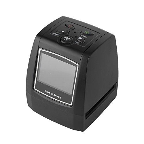 VBESTLIFE Scanners de Diapositives et Négatifs, 2.36 Pouces TFT LCD Écran 5MP / 10MP USB 135 / 35mm Scanner Négatif Film Soutien SD MMC Carte Scanner de Film Professionnel