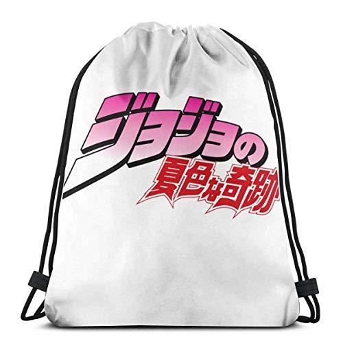 XLFD Kaguya Persona Grafik Kordelzug Rucksack Sporttasche Gym Sack