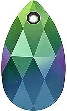 6106 Swarovski Pendant Peardrop - 16mm | Crystal Scarabaeus Green | 16mm - Pack of 1 | Small & Wholesale Packs