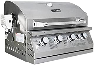 Duro 7403003BI Drop in Grill, Stainless Steel