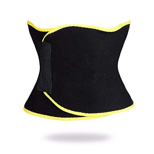 Belleashy Cinturón De Entrenador De Cintura Fitness Sweat Cintura Cinturón Body Sculpting Heat Shapewear para Entrenamiento Físico Unisex