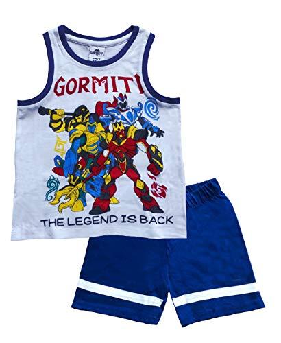 SUN CITY - Disfraz de Gormiti para niño de 3 a 8 años