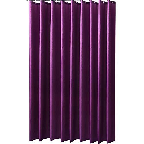 Homeofying Duschvorhang für Badezimmer, Reine Farbe, wasserdicht, schimmelfest, waschbare Dekoration, Polyester, violett, 200x200cm