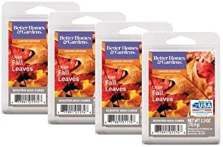 Better Homes and Gardens Crisp Fall Leaves Scented Wax Cubes, 4-Pack (2.5 Ounce each)
