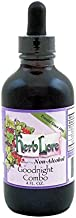 Herb Lore Goodnight Combo Tincture - 4 fl oz - Herbal Remedy with Valerian Root, Passion Flower, & Skullcap for Kids & Adult - All Natural Sleep Aid & Remedy for Nervousness & Worry