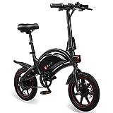 Autolock Bicicleta Eléctrica Plegable 36V/10Ah, Bicicleta Eléctrica con Pedales,Velocidad Máxima 25 KM,Asiento Ajustable, Bici Electrica Urbana Ligera para Adulto