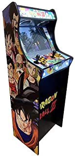 Máquina Arcade Lowboy Retro, máquina recreativa -Tamaño Real- Dragon Ball
