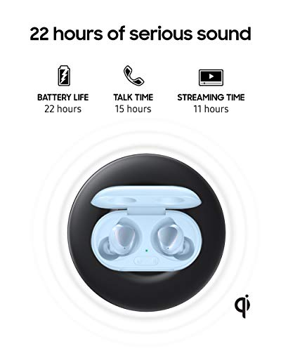 Samsung Galaxy Buds+ Plus, True Wireless Earbuds (Wireless Charging Case included), Cloud Blue – US Version Arizona
