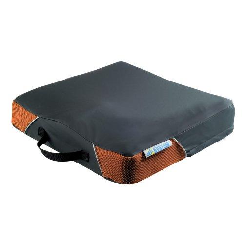 Systam P361C Viscoflex-cojín contra escaras maletín para portátiles de hasta grado 2 negro 45 x 46 x 8 cm