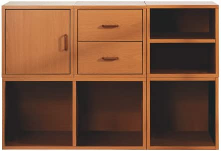 Foremost 340022 Cash special price Modular 6-in-1 Purchase Shelf Honey Cube System Storage