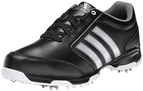 Adidas Pure 360 Lite - Zapatillas de Golf para Hombre, Blanco/Negro/Negro, 8.5 US