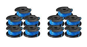 Ryobi OEM 3110382AG 10 Pack string trimmer replacement spool line RY40200 RY24200 P2002