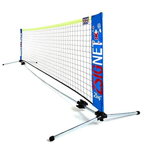 Zsig ZS-10-MT-E Tennisnetz, Mehrfarbig, 3 m