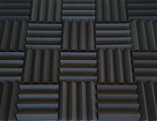 Acoustic Foam Panels | Soundproofing Studio Foam Kit | Wedge Style Panels | 3