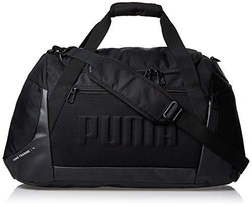 Puma Gym Duffle Bag M Bolsa Deporte, Hombre, Black, OSFA