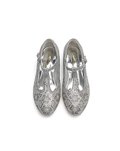 ELSA & ANNA Última Diseño Niñas Princesa Reina de Nieve Partido Zapatos Zapatos de Fiesta Sandalias SIL21-SH (24 EU)