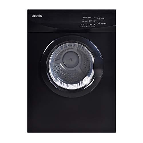 electriQ Freestanding 7kg Vented Tumble Dryer - Black