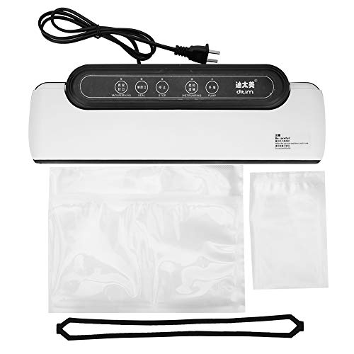 Sellador de vacío de alimentos Máquina de sellado automática de envasador portátil de cocina de hogar Máquina de sellado automática 100-240V