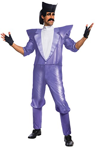 Rubie's mens Despicable 3 Balthazar Bratt Costume, Multi Color, Standard US