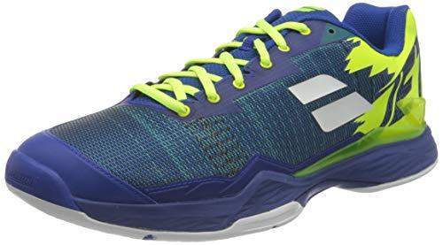 Babolat Herren Jet MACH I All Court Men Tennisschuhe, Blue/Fluo Aero, 46 EU