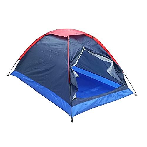 YSJJYQZ Tienda de campaña 2 Personas Viaje al Aire Libre campaña de Camping con Bolsa de campaña campes de campaña campes de Camping al Aire Libre Camping Carpas (Color : Type 1)