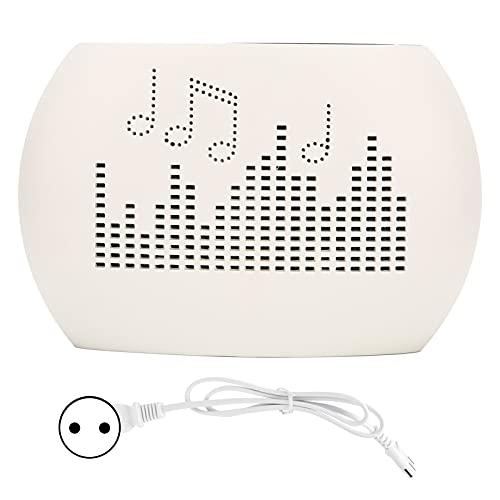 Qcwwy Mini Deumidificatore Elettrico, Deumidificatore Portatile da Bagno Ad Alta umidità per Cucina Camera da Letto Casa 110‑240V(EU)