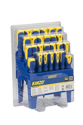 KINZO Screwdriver Set CR-V ST 26 Stück, 53839