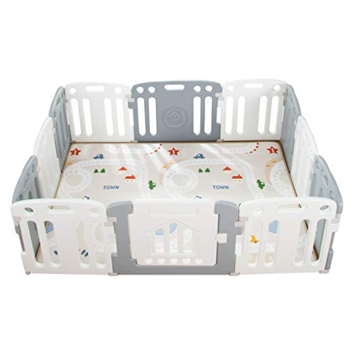 Why Should You Buy Portable Play Yard with Gate for Babies, Infant, Toddlers   Large Indoor/Outdoor ...