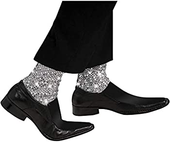 Rubie s Michael Jackson Sparkle Stirrup Costume Socks One Size  9735