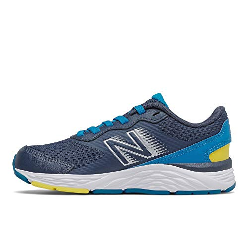 New Balance 680v6, Zapatillas para Correr de Carretera Niños, Natural Indigo, 32 EU Wide