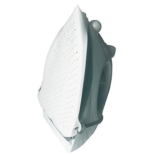 MSV 130060 Semelle pour Fer à Repasser de téflon en Blanc, 24x15,5x0,3 cm