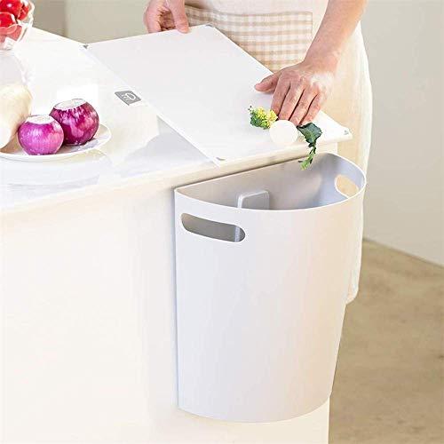 Basura puede Bote de basura, Cubo de la basura que cuelga Bajo fregadero de cocina Cocina Baño Sala de estar sin cobertura de Hogares pared de colgante de almacenamiento bote de basura, café, café Ade