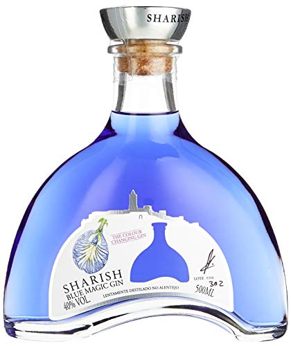 Sharish Blue Magic Gin (1 x 0,5 Liter)