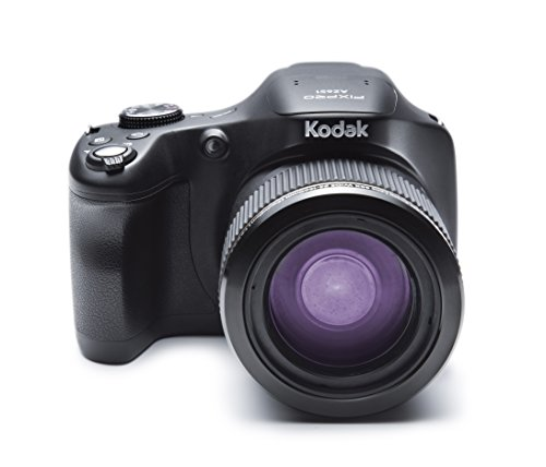 Kodak AZ651 Appareils Photo Numériques Bridge 21.14 Mpix Zoom Optique 65 x AZ651-BK Noir