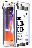 Case Warehouse embarque Personalizada Bono de Entrada: Londres Slim Funda para iPhone 7 Plus TPU Protector Ligero Phone Protectora con Londres Viajero Pasión De