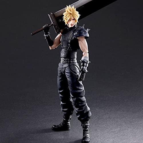 MXUS Figura di Final Fantasy L'action Figure di Claude può Essere Scambiata con Le Armi