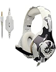 Cosmic Byte GS410 Headphones with Mic and for PS4, Xbox One, Laptop, PC, iPhone and Android Phones (Camo Grey)