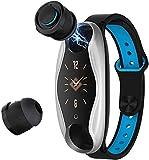 T90 Smart Watch Wireless Bluetooth Headset 2 in 1 Bluetooth 5 0 Chip IP67 Wasserdicht Sport für...