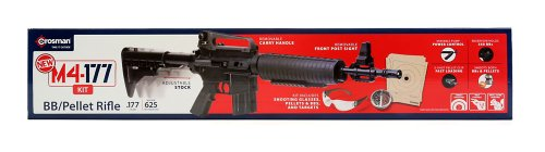 Crosman M4-177 Multi-Pump BB and Pellet Air Rifle