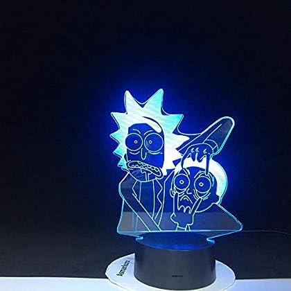 ¡Mira cómo brillo en este universo Rick!