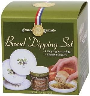 Dean Jacob's 5 Piece Melamine Bread Dipping Set - 2.4 Ounce