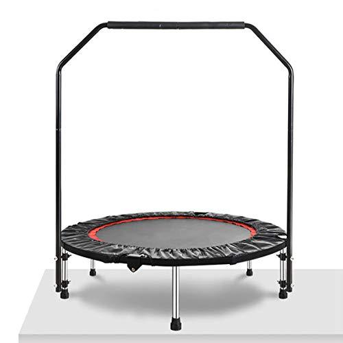 GAYBJ Kids/Adult Trampoline Mini Trampoline Indoor Outdoor with armrests Foldable Rebounder Jumper safe and durable for Adults and Kids Max Load 200KG