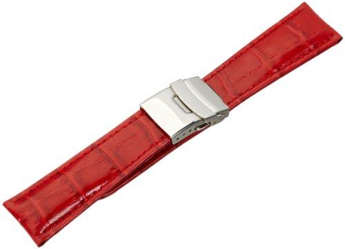 Morellato cinturino in pelle donna TIPO rosso 22 mm A01U3084656083CR22