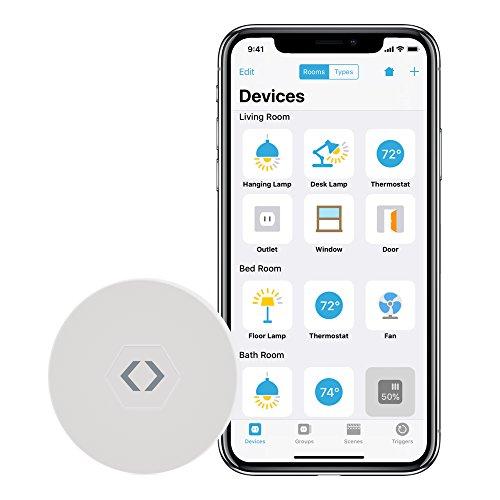 LinkDesk Room Locator | Digitaler Anwesenheitssensor | Raumbasiertes (iBeacon) Auslösen von Smart Home Geräten und Diensten | Für iPhone