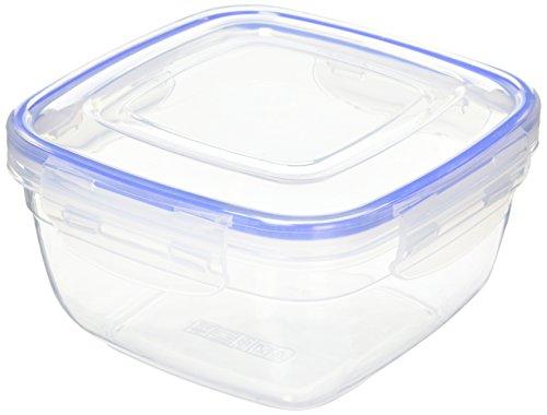 Alpfa 802307 Boîte Hermétique Carrée, Plastique, Blanc, 20 x 20 x 20 cm