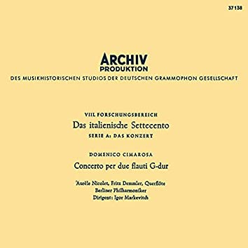 Mozart: Bassoon Concerto, K. 191; Haydn: Sinfonia concertante; Cimarosa: Concerto for two flutes; Schubert: Symphony No. 3 (Igor Markevitch – The Deutsche Grammophon Legacy: Volume 3)