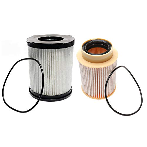 iFJF FF63017NN and FS53029NN Fuel Filter Kit Replacement for Nissan Titan XD 2015-2017 5.0L V8 Diesel Engine