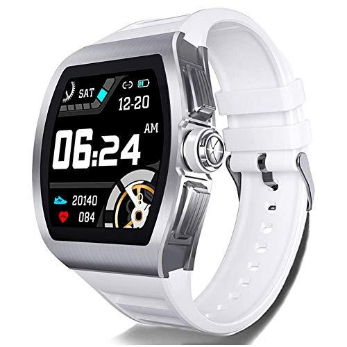 AYDQC Inteligente Aptitud del Reloj Tracker con Ritmo cardíaco/Reposo/Fondo di Natación Modo de Reloj de la Aptitud 50M Actividad Impermeable Rastreador Hombres Mujeres fengong (Color : Black)