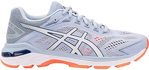 ASICS Women's GT-2000 7 Running Shoes, 8.5M, Mist/White