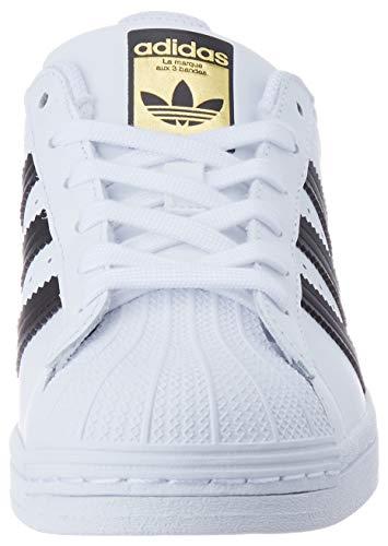 adidas Superstar, Sneaker Mujer, Footwear White/Core Black/Footwear White, 37 1/3 EU
